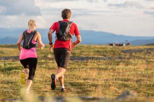 löpning sommar fjäll trailrunning