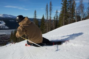Skidåkning alpint Mark Going