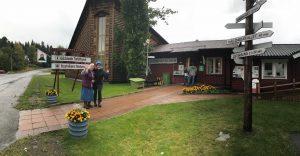 Gäddede turistinformation Vildmarksvägen Anne Adsten