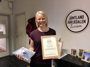 Maja Everlid JHT stipendium 2019