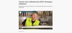 Jämtländska mathantverkare om trenderi inom måltidsturism