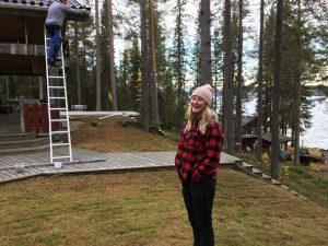 Lina Wiklund turismprogrammet 2019 JHT Praktikant