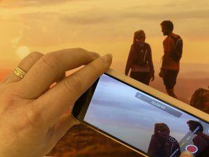 Filma med mobilkamera