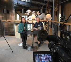Anne Adsten och Maria Lundkvist i Visitas råd för besöksservice