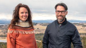 Anne Adsten och Andreas Edholm foto Johannes Adolfsson