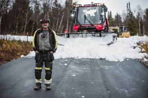 Latti Östlund pistmaskin Mats Lind