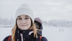 Student Anna Thuresson