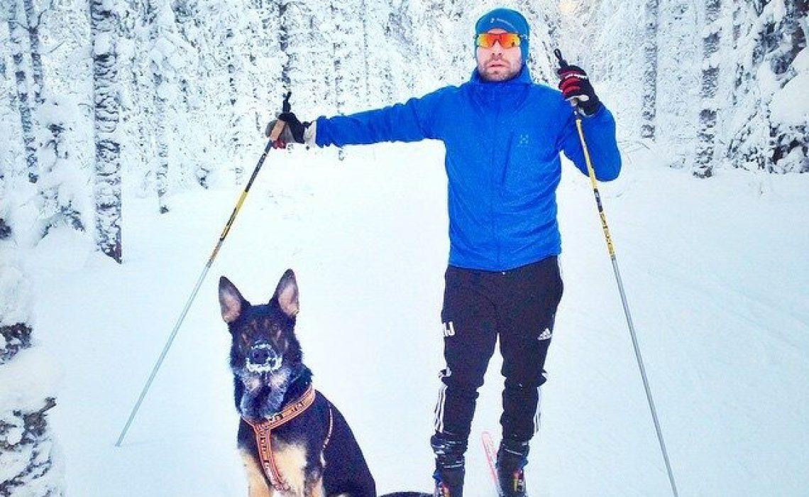 Martin Johansson längdåkning hund