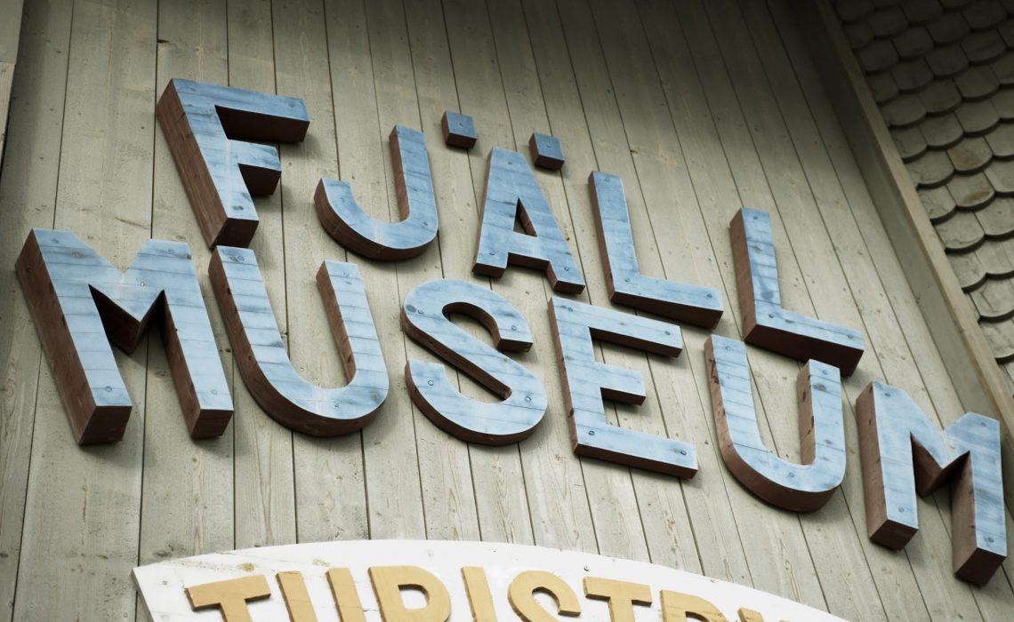 Härjedalens Fjällmuseum i Funäsdalen. Foto: Martin Söderqvist
