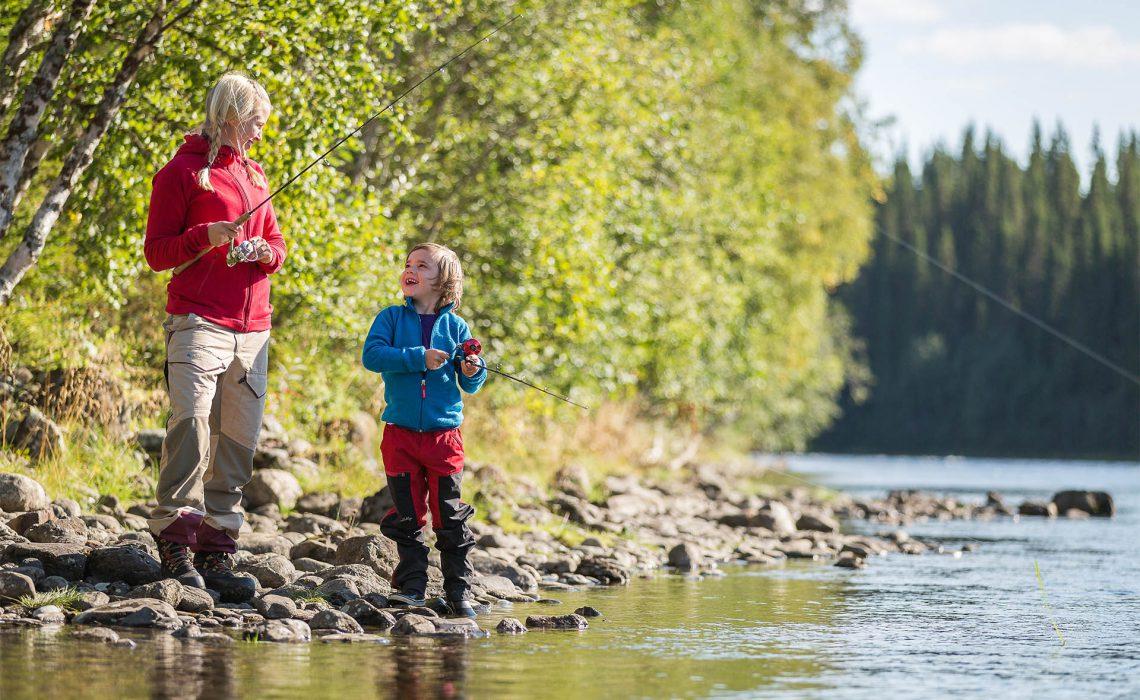 fiske äventyr vatten sjö