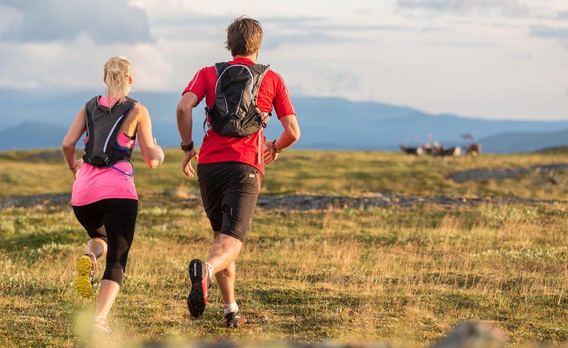 löpning skog fjell trailrunning