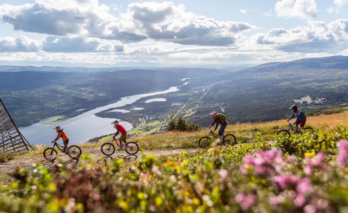 cykel MBT äventyr sommar fjäll