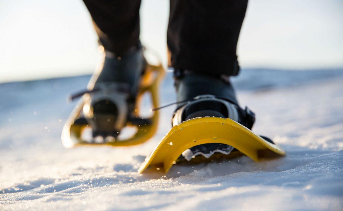 Winter Vinter snöskor snowshoes