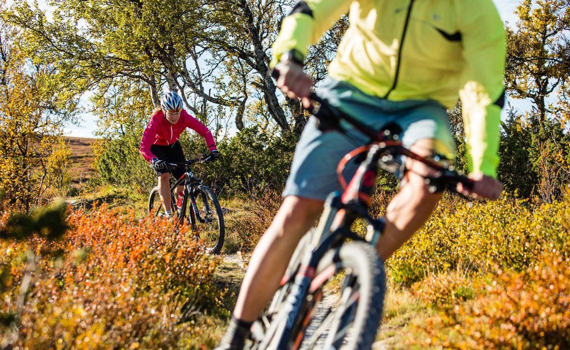 MBT cykling Funäsdalen äventyr höst fjäll