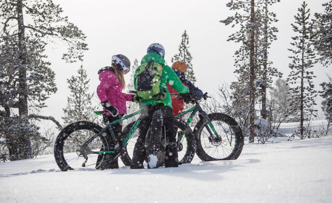 lofsdalen äventyr snö skog