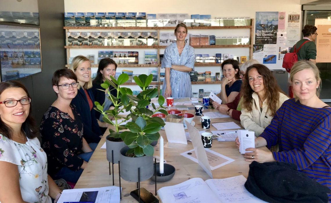 Gruppbild studieresa Norge 2019