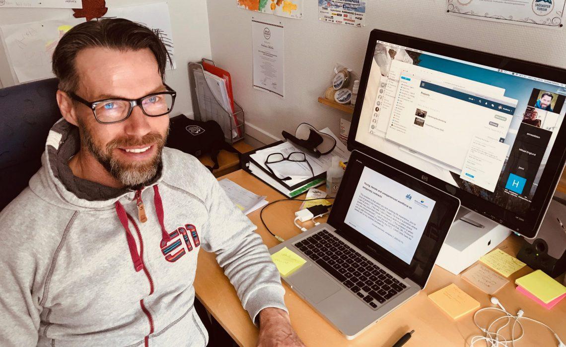 Andreas Edholm är en av värdarna för utbildningen Turism Post Corona. Foto: Mats Forslund.