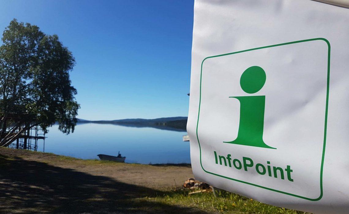 Infopoint vildmarksvägen strömsund