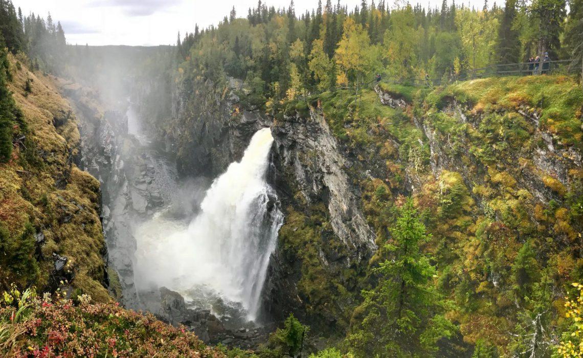 Hällingsåfallet Gäddede Frostviken Strömsund Anne Adsten