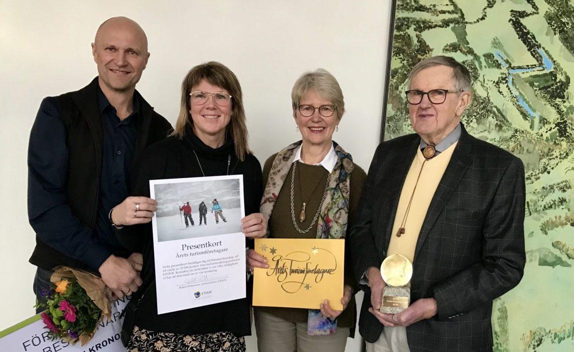 Wikners i Persåsen - Årets Turismföretagare 2019. Foto: Anne Adsten