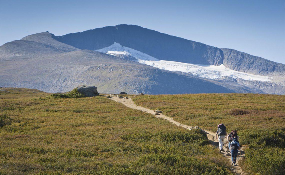 fjäll äventyr vinter sommar vandring Helags Ljungdalsfjällen