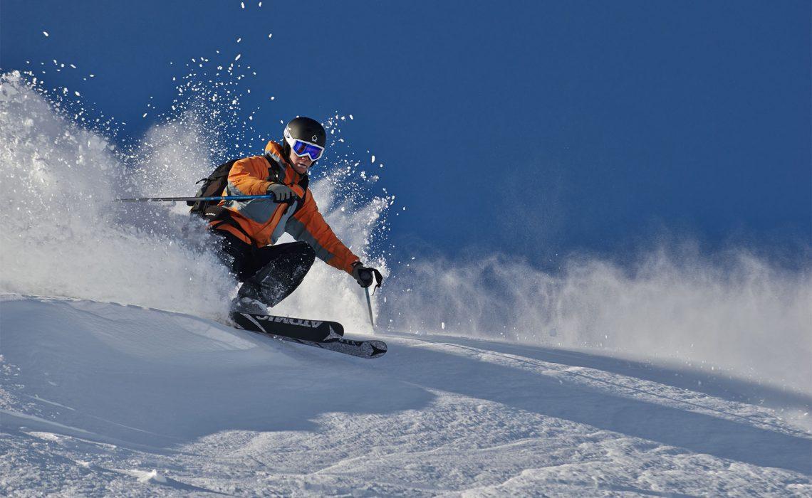 skidåkning äventyr vinter snö