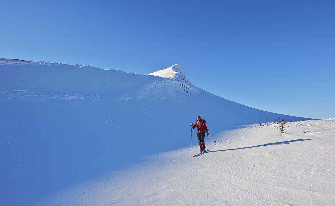 vinter turåkning fjäll Foto: Lars Häreblad