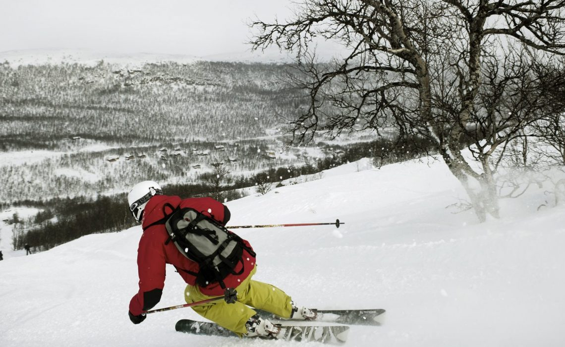 Offpist Funäsfjällen Martin Söderqvist