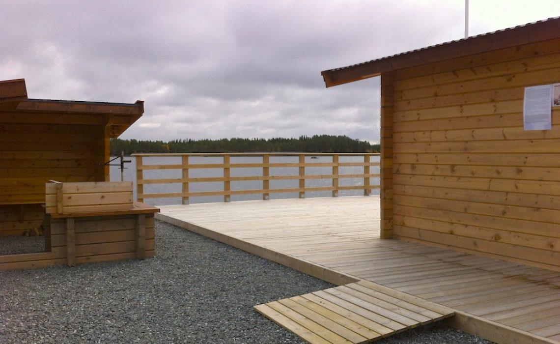 Tillgänglig fiskeplats Näcksta Berg