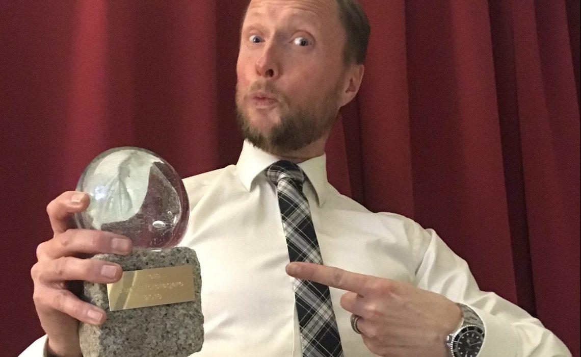 Årets Turismföretagare Niklas Winbom Vice VD / Fjällchef STF.