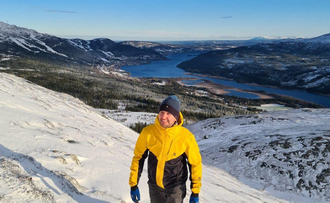 Philip Harlaut snö Tegefjäll