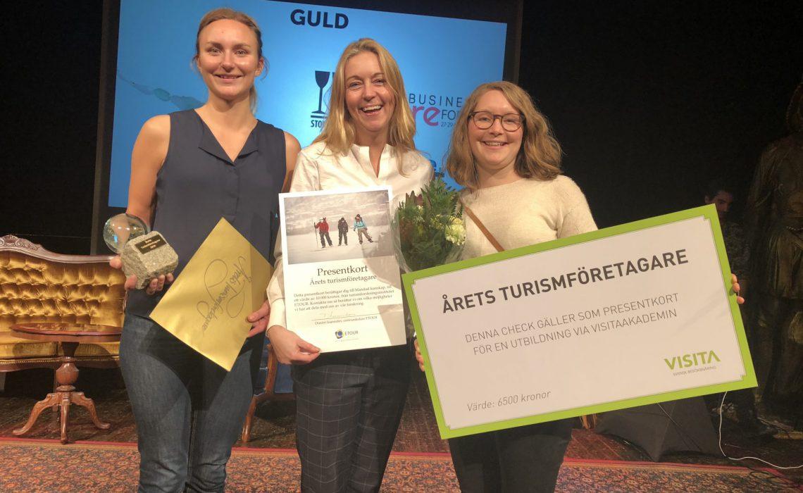Årets Turismföretagare 2018 STF Jämtlands- och Härjedalsfjällen. Foto: Anette Andersson