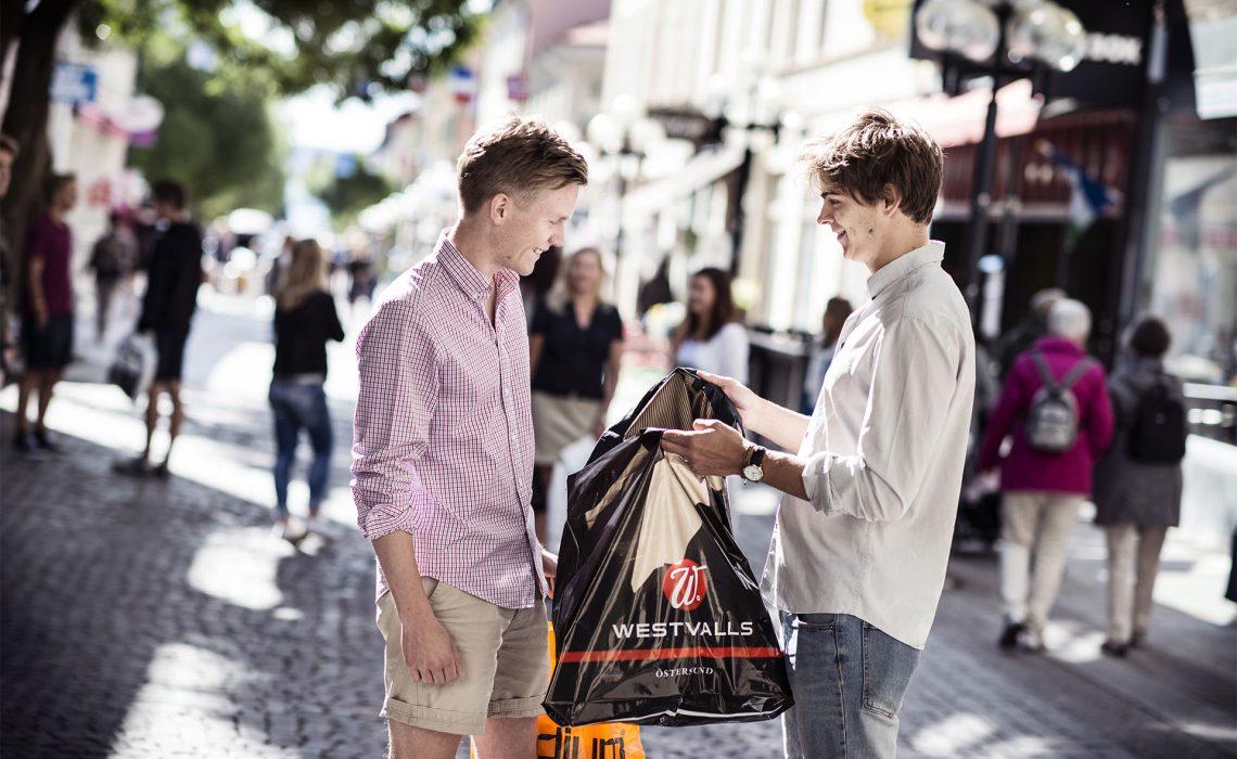Östersund shopping Sandra Lee Pettersson