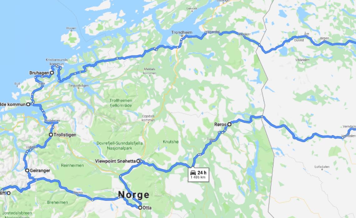 Studieresa Norge 2019