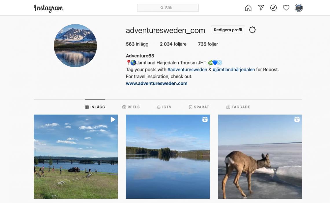 Instagram Adventure Sweden