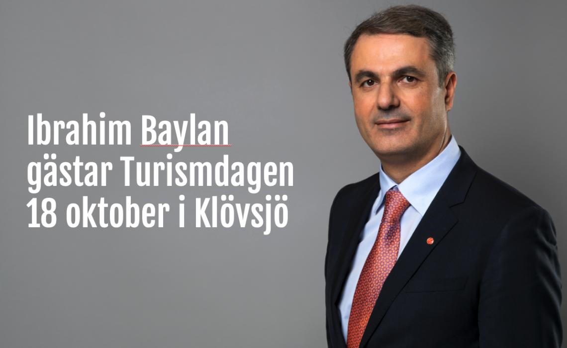 Ibrahim Baylan Turismdagen JHT
