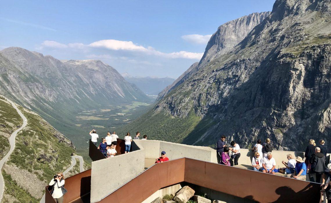 Trollstigen Viewpoint. Foto: Anne Adsten.