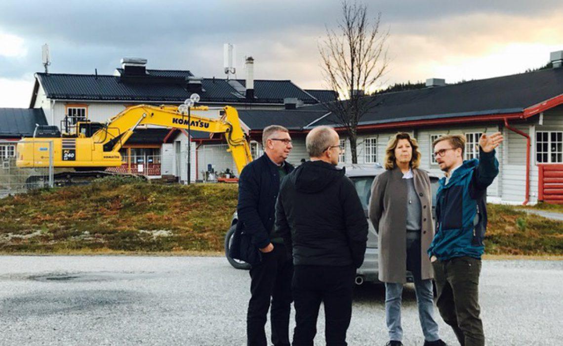 VisitSweden VD besök JH 2018