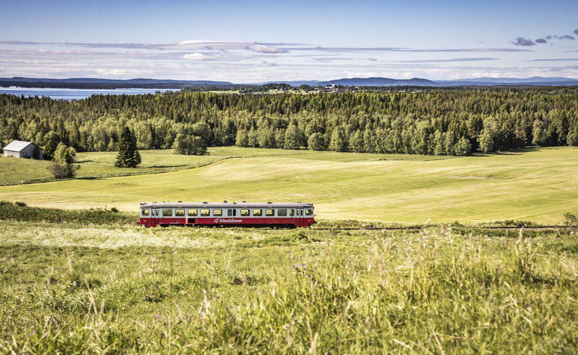 Inlandsbanan i Södra Storsjöbygden Håkan Wike