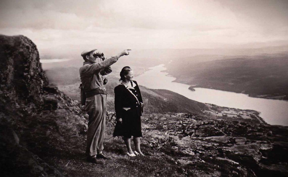 Turism historia Åreskutan Sigvard Lindé.